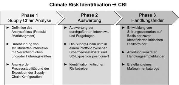 Abb. 1: Phasen des CRI im Überblick