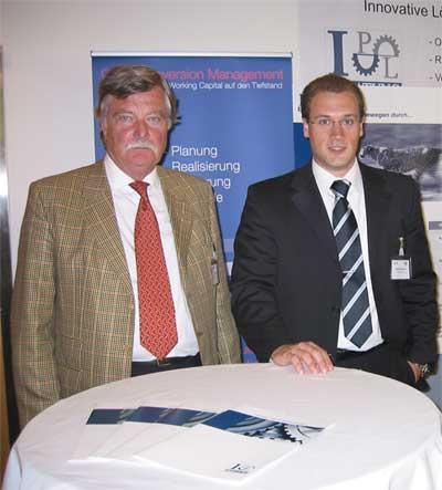Theo Muffert und Markus Ehmann von IPL
